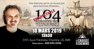 104 histoires à la Croisée des Chemins - 10 mars 2019 à 13h30