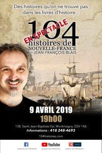Les 104 histoires à la Bibliothèque de Montmagny - 9 avril 2019