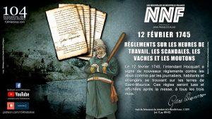 12 février 1745 - Aujourd'hui en Nouvelle-france
