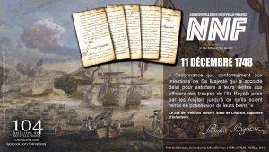 11 décembre 1748 - Délai accordé pour rembourser ses dettes - Nouvelle-France