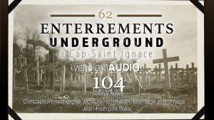 062 - Enterrements underground à Cap-Saint-Ignace - Nouvelle-France